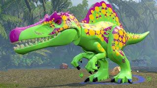LEGO Jurassic World - A look at the Custom Dinosaur Creator & Dinosaur Gameplay