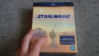 getlinkyoutube.com-Star Wars: The Complete Saga Blu Ray Unboxing