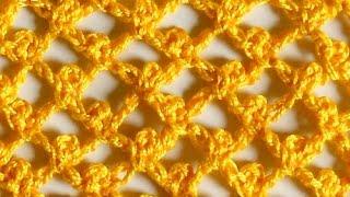 Узор Сводчатые ячейки с пико -  Crochet pattern Vaulted cell with pico - сетчатые и филейные