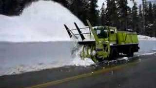 getlinkyoutube.com-North Cascades - Snowblower in action.
