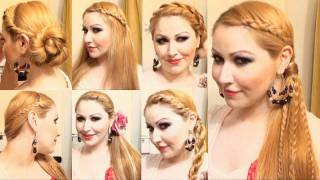 getlinkyoutube.com-Peinados Primavera Verano  tutorial paso a paso  Summer hairstyleS for long hair: