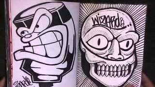 getlinkyoutube.com-+BLACKBOOK 2 from Cholowiz13 graffiti characters