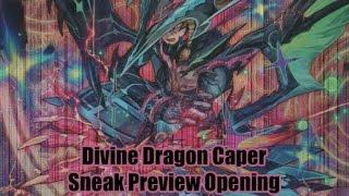 Divine Dragon Caper Cardfight Vanguard Sneak Preview Opening