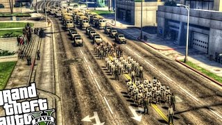 getlinkyoutube.com-Military Parade - GTA 5 PC MOD