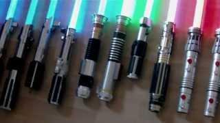 getlinkyoutube.com-UPDATED Force FX Lightsaber Collection