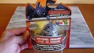 getlinkyoutube.com-Dragons Defenders of Berk Surprise Fizzing Egg #1 Hatching Dragon Toys