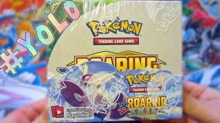 Pokemon YOLO Packs 2015 Roaring Skies Booster Box Opening! (Nintendo World)