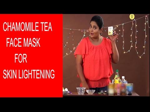 Chamomile Tea Face Mask  For Skin Lightening Naturally | DIY Easy Face Masks | StyleCraze