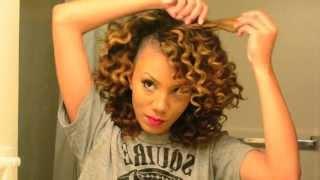 getlinkyoutube.com-How to Get Perfect Bantu Knot Out Results on Dry Natural Hair | Alyssa Forever