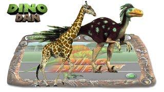 getlinkyoutube.com-DINO DAN : DINO DUELS #31 -  Dromaeosaurus VS Giraffe @ Make For Kids