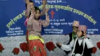 getlinkyoutube.com-Nepali Christian dance prisent by Aasraya Church. Resha , Anjal, Surya, Anant Kulung