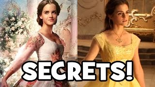 20 SECRETS About The Making of Beauty And The Beast (2017)
