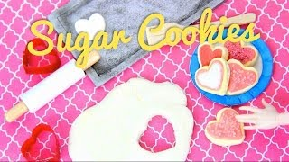 getlinkyoutube.com-How to Make Doll Sugar Cookies - Doll Crafts