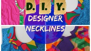 getlinkyoutube.com-Designer Necklines - DIY