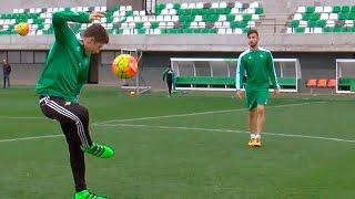Pases por parejas con 2 toques | CHALLENGE | Real Betis Balompié