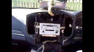 getlinkyoutube.com-pajero gen4 radio removal