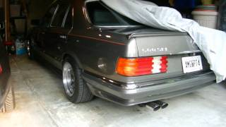 1984 W126 500SEL AMG Exhaust Sound