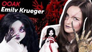 getlinkyoutube.com-Emily Krueger OOAK (Эмили Крюгер ООАК, дочь Фредди Крюгера), обзор на Halloween/Хэллоуин