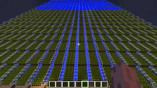(14175 Wheat) Biggest Minecraft Wheat farm, EVER. (No lag) (HD) kuusj98