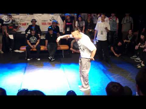 Popping Top 4 | Riku VS Crazy Kyo | Feel The Funk Vol.7