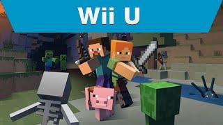 Minecraft WII U: Official Gameplay Trailer (HD)