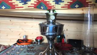 getlinkyoutube.com-Boat heater using a Aladdin Lamp without a mantle