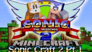 getlinkyoutube.com-Sonic Craft 2 Part 1 w/ KKcomics and Gizzy Gazza - Shitty Start