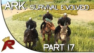 "getlinkyoutube.com-Ark: Survival Evolved Gameplay - Part 17: ""Raptor Squad & Dino Pen!"" (Early Access)"