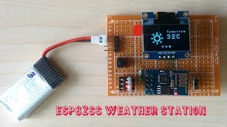 getlinkyoutube.com-ESP8266 WEATHER STATION