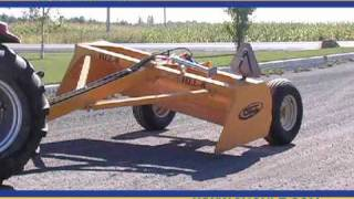 getlinkyoutube.com-Fabrication S.Houle Land Leveler