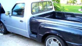 getlinkyoutube.com-v8 Ford Ranger 302 Super 40 Flowmaster Dual Exhaust