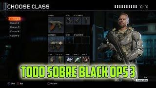 getlinkyoutube.com-BLACK OPS 3 - PERSONAJES - TODAS LAS ARMAS- RACHAS- CREAR CLASE