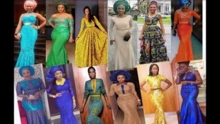 getlinkyoutube.com-Long Gown Styles - African / Nigerian Style Occasions Outfit Ideas