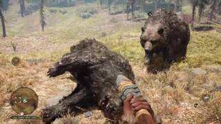 Far Cry Primal Animal Kills Compilation