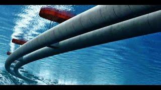 کیهان لندن - بزرگترین لوله شناور جهان در زیر آب، اتوبانی برای اتومبیلها!