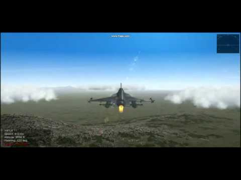 JF-17 Thunder 3d video game sim