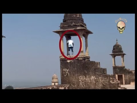 Ghost Caught On Tape In Gwalior Fort, India: Real Ghost Acti