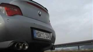 getlinkyoutube.com-BMW Z4 COUPE 3.0si CAPRISTO EXHAUST Klappenanlage Sound with remote control flaps / valve