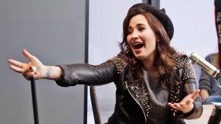 getlinkyoutube.com-Off-Air Antics with Demi Lovato | On Air with Ryan Seacrest