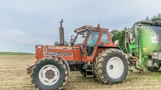 getlinkyoutube.com-Fiatagri 160-90 & Pichon 24500L