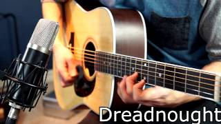 getlinkyoutube.com-Dreadnaught Vs Grand Orchestra Acoustic Guitars
