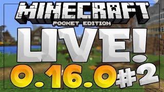 getlinkyoutube.com-[0.16.0] MINECRAFT POCKET EDITION LIVE #2!!
