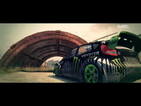 DiRT3-JOYRIDE-DC COMPOUND-6-GYMKHANA HUGE DRIFT