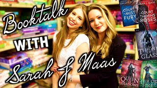 BOOKTALK WITH SARAH J MAAS