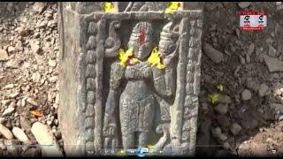 पौड़ी: सड़क निर्माण के दौरान मिली प्राचीन काल की मूर्ति
