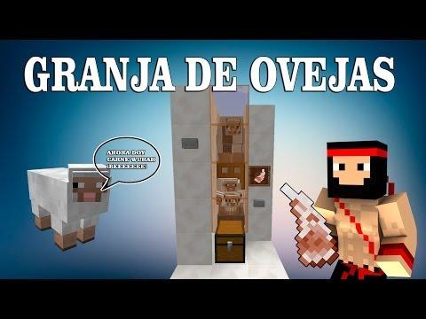   TUTORIAL REDSTONE   GRANJA DE OVEJAS 1.8.