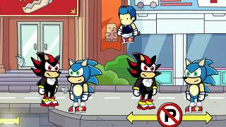 getlinkyoutube.com-Scribblenauts Unlimited 184 Sonic & Shadow Remakes in Object Editor