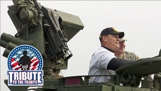 getlinkyoutube.com-WWE Superstars get Stryker and small arms training: 2013 Tribute the Troops