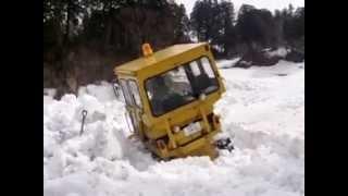 法末 春 2013/04/02 農道の除雪風景