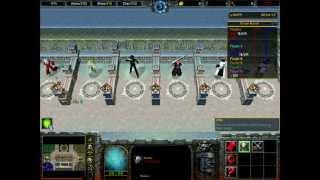 getlinkyoutube.com-Warcraft III Frozen Throne: Fight OF Characters Map Part One